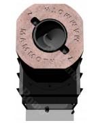 Romotop  ANGLE  R/L 2g L 66.51.44.01  zdvihacie dvierka s ohýbaným sklom  Krbová vložka