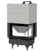 Teplovzdušná kozubová vložka Romotop - ANGLE R/L 2g S 66.44.44.05 - s deleným sklom