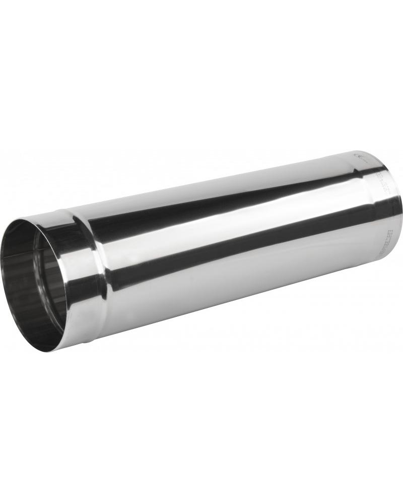 Rúra rovná ø180 mm nerez - 500 mm