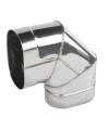 Koleno ovál 120/200 mm - 90° krátky bok