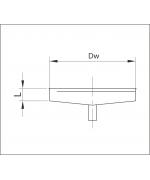 Kondenzačná ímka ø180 mm nerez