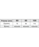 Prechod strechou ø60 mm nerez kondenz