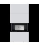 Kratki NBC 7 s obstavbou HOME EASY BOX, biela - designový krb