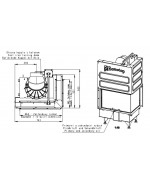 Romotop  ANGLE L 2g L 66.44.44.05 - krbová vložka s deleným sklom
