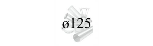 Priemer ø125 mm