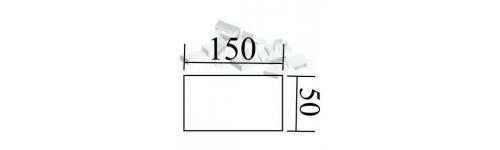 Kanal 150x50 mm