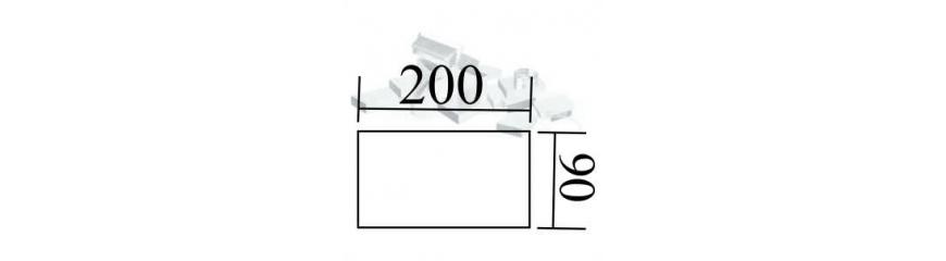 Kanal 200x90 mm